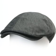 6591df6691f ililily New Mens Cotton Flat Cap Cabbie Hat Gatsby Ivy Caps Irish Hunting  Hats Newsboy with Stretch fit