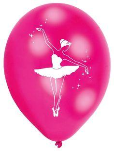Si a tu peque le gusta el ballet, una fiesta de cumpleaños de bailarinas puede ser una buena sorpresa! Decora con estos bonitos globos, por ejemplo. Ya tenemos la colección completa con un montón de accesorios para decorar.  #decoracionfiestas #fiestastematicas #ballet #bailarina #cumpleañosbailarina #cumpleañosballet #fiestasbonitas #birthdaydecorations #decoracioncumple #balletparty #balletbirthday