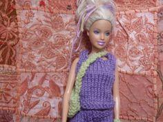 Mon ensemble pantacourt, débardeur et sac pour Barbie