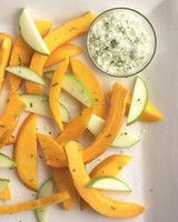 Sliced Fruit with Sugared Lime Zest | Martha Stewart Living - Blend lime zest with sugar and a bit of salt to make a sweet-tart topping for fresh fruit.