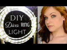 How to: Easy & Cheap Diva Ring Light!! | DIY Tutorial - YouTube