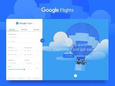 Google Flights Concept