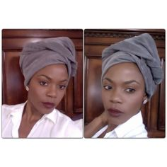 Denim Head Wrap Tutorial