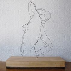 wire - DRAWING WITH WIRE!