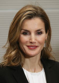 Queen Letizia of Spain arrives for a meeting at the Bundestag with King Felipe VI (not pictured) on December 1, 2014 in Berlin, Germany.