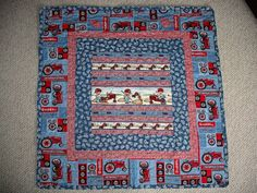 Baby Quilt by QuiltersPantry SOLD