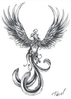 25 Best Phoenix Tattoo Designs - I Want This - . - 25 Best Phoenix Tattoo Designs – I Want This – - Skull Tattoos, Forearm Tattoos, Body Art Tattoos, New Tattoos, Tatoos, Tattoo Thigh, Tattoo Ink, Abdomen Tattoo, Sick Tattoo
