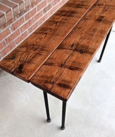 Entrance Me Sofa Table Reclaimed Wood Console Table by iReclaimed