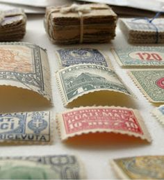 Vintage Stamps, $7.00 for 50 used stamps (not for postage)