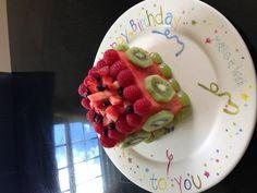 "Healthy birthday ""cake"""
