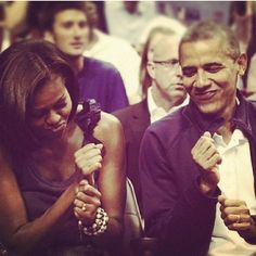 First Lady Michelle Obama and President Barack Obama. So adorable Michelle Obama, Big Sean, My Black Is Beautiful, Black Love, Hello Beautiful, Black Art, Barack Obama, Obama President, Nicki Minaj