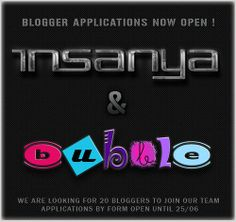 Insanya & [ bubble ] Blogger Applications Open | Flickr - Photo Sharing!