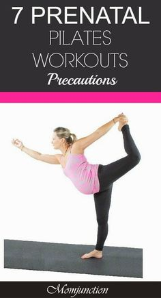 7 Precautions For An Effective Pilates Workout During Pregnancy Looking for an effective pregnancy pilates workout? Read this MomJunction article to know different prenatal pilates exercises safe for whole 9 months. Prenatal Pilates, Pregnancy Pilates, Prenatal Workout, Pregnancy Workout, Pilates Workout, Pregnancy Tips, Pregnancy Fitness, Workouts, Pop Pilates