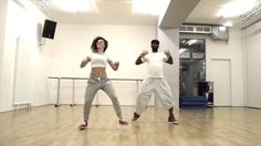 Antonia y Vladimir performing Plakito - Reggaeton Zumba®Fitness Choreo
