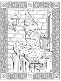 The First Official Harry Potter Colouring Book Is Out On 5 November Publisher Studio
