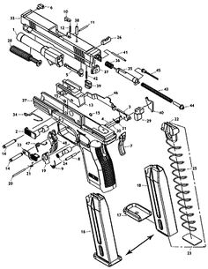 th 300 200 pixels guns and ammo pinterest FN P90 Airsoft Gun find the parts you need for the springfield xd 3 sub pact in this easy to understand schematic at midwayusa