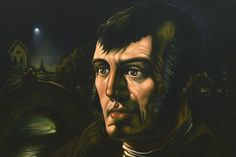 Robert Burns by St. John Ogilvie artist Peter Howson