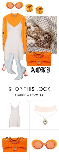 """""""what about your friends ?"""" by aokichienne ❤ liked on Polyvore featuring Missoni, Charlotte Russe, Chanel and The Row"""
