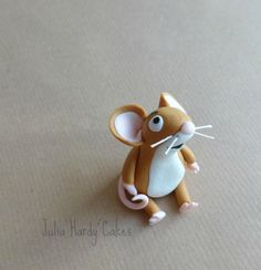 Little Brown Mouse from The Gruffalo. He is made from gumpaste :-) x