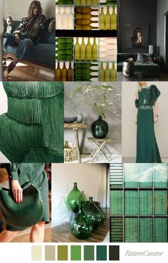 Bottle green trend ss 2018