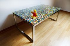 Une table basse en Lego