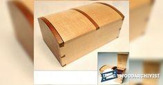Jewellery Casket Plans - Woodworking Plans and Projects | WoodArchivist.com