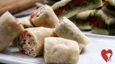 Ricette e Segreti in Cucina : Aperitivo con tortillas di mais alla crema di form...