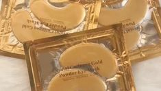 Mabox is a series of anti-aging serum and face creams on a natural basis without parabens containing hyaluronic acid and Vitamin C. Gold Eye Mask, Gold Eyes, Under Eye Mask, Oil Free Makeup, Gold Powder, Eye Wrinkle, Best Face Products, Dark Circles, Eye Patches