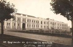 9º Regimento de Artilharia Montada. 1937. Atual Shopping Curitiba.