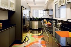 You can spill orange juice and lemonade all over this floor!