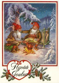 Lars Carlsson. Christmas gnomes