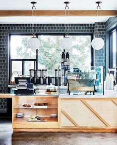 The best morning routines include ☕️ + great interiors. Double-tap if you agree, and then click the link in our bio to find out which L.A. hot spot needs to be on every foodie's bucket list.   photo: @jennapeffley for MyDomaine