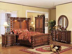 Hasil gambar untuk recamaras modernas y elegantes ANTIGUOS Italian Bedroom Furniture, Bedroom Furniture Design, Home Decor Furniture, Antique Furniture, Bedroom Cushions, Cushions On Sofa, Home Bedroom, Bedroom Decor, Bedroom Ideas