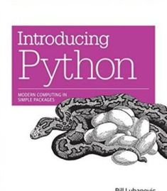 Introducing Python: Modern Computing In Simple Packages PDF