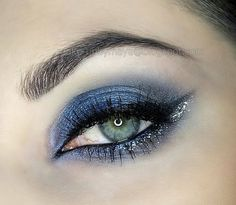 Midnight blue sultryeyes