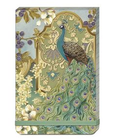 Peacock Garden Large Flip Pad by Punch Studio #zulily #zulilyfinds