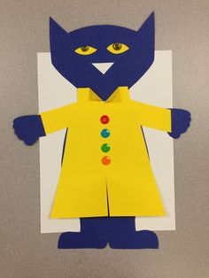 FREE Pete the Cat template