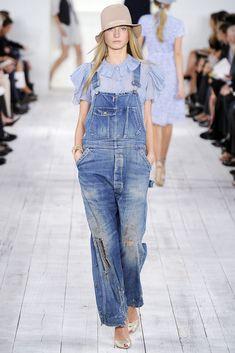 Ralph Lauren reversiona el denim en el Fashion Week de Nueva York