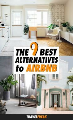 9 Airbnb Alternatives: The Best Sites Like Airbnb - When searching for sites like Airbnb, it's hard to know which sites to trust. These nine Airbnb competitors will help you find the perfect home rental on your next trip or vacation! #airbnb #vacation #rental #apartments - via @travelfreak