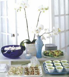 Orchids-Spa Party-Camille Styles Events