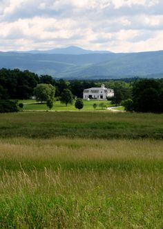 The University of Vermont Morgan Horse Farm. Established by Joseph Battell in 1878 to preserve the iconic Vermont breed