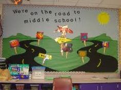Back to School Bulletin Board for Middle School