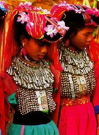 Hilltribes traditional dress