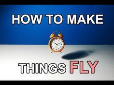 Stop Motion Tutorial. How to make things FLY! - YouTube