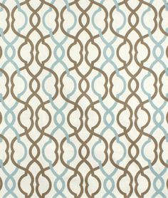 Shop Waverly Makes Waves Latte Fabric at onlinefabricstore.net for $14.95/ Yard. Best Price & Service.