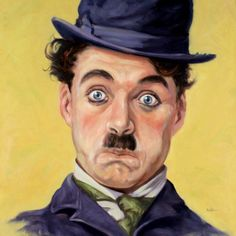 Charley Chaplin by Mark Walter Oil ~ x Charlie Chaplin, Pencil Portrait Drawing, Pencil Art Drawings, Rooster Painting, Artist Painting, Alexandra Daddario Images, Charles Spencer Chaplin, Painted Rock Animals, Amazing Paintings