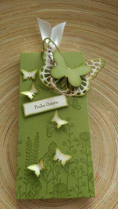 Geschenkverpackungen - Schokoladenziehverpackung incl. 1 Lindt Schokolade - ein Designerstück von Mein-Kreativpoint bei DaWanda