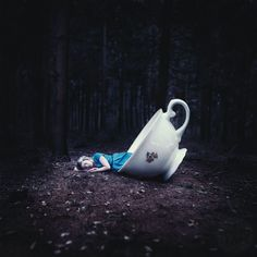 Alice in Wonderland Surrealism Photography, Fantasy Photography, Conceptual Photography, Creative Photography, Artistic Photography, Foto Fantasy, Go Ask Alice, Chesire Cat, Alice Madness