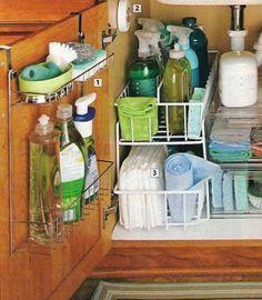 15 wonderful diy ideas to upgrade the kitchen - Under Kitchen Sink Storage Ideas