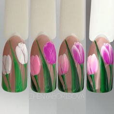 "#nailarttutorial #tulipsnail #flowernailart МАСТЕР КЛАССЫ (video/photo MK) (@masterclass_nailartclub) on Instagram: ""Repost @zhenya__borisova ・・・ Чем больше стараешься, тем хуже получается Кто просил МК?!Вот!!!…"""